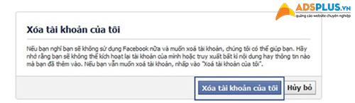 hướng dẫn xóa tài khoản facebook 01