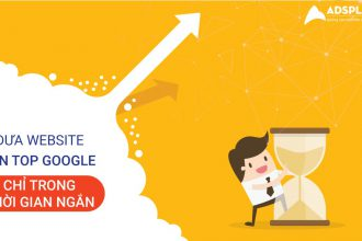đưa website lên top google
